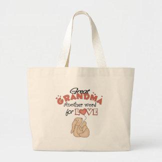 Great Grandma Children's Gift Canvas Bags