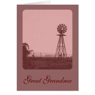 Great Grandma Greeting Card