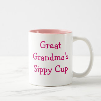 Great grandma s sippy cup coffee mug