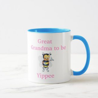 Great Grandma to be Yippee Mug