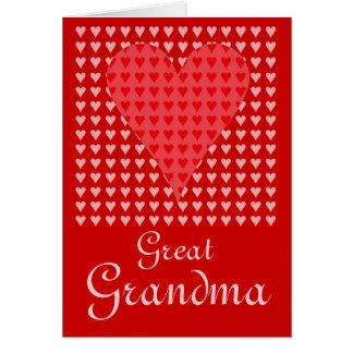 Great Grandma's Valentine Greeting Card