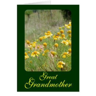 Great Grandmother Greeting Card