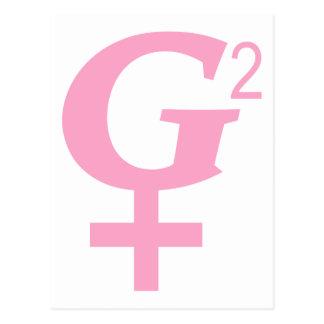 Great Grandmother Symbol - G-Squared Postcard