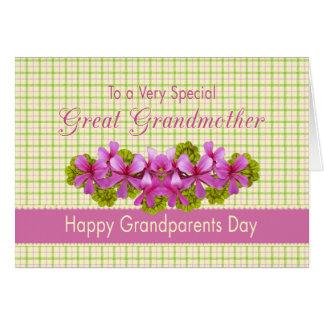 Great Grandmother's Garden Greeting Card