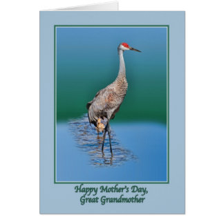 Great Grandmother's Mothers Day Card