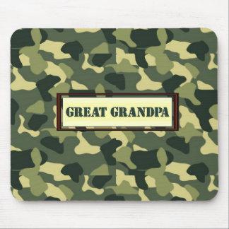 Great Grandpa - Camo Mousepads