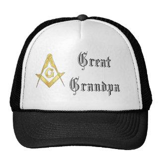 """Great Grandpa Masonic Symbol"" Trucker Hat"