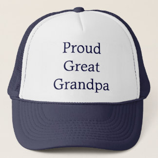 Great Grandpa Trucker Hat