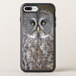 Great gray owl close-up, Canada OtterBox Symmetry iPhone 8 Plus/7 Plus Case