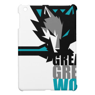 Great Grey Wolf Case For The iPad Mini