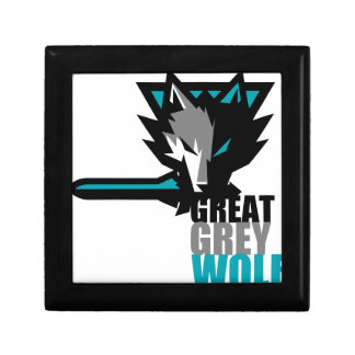 Great Grey Wolf Gift Box