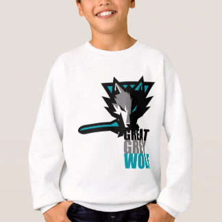 Great Grey Wolf Sweatshirt