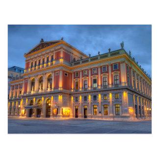 Great Hall of Wiener Musikverein, Vienna, Austria Postcard