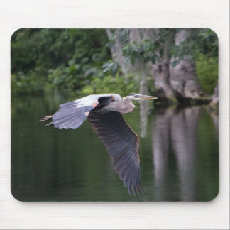 Great Heron Mouse Pad