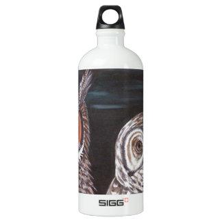 Great Horned & Barred Owls SIGG Traveller 1.0L Water Bottle