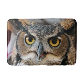 Great Horned Owl (Bubo virginianus) Bath Mat