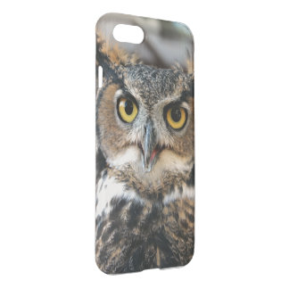 Great Horned Owl (Bubo virginianus) iPhone 7 Case