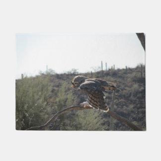 Great Horned Owl Doormat