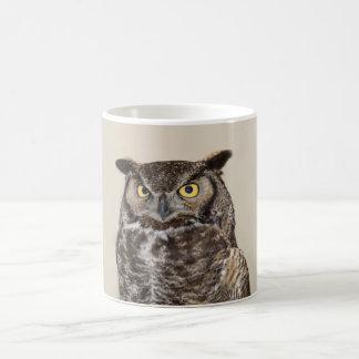 Great Horned Owl Greeting Mug