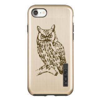 Great Horned Owl Incipio DualPro Shine iPhone 8/7 Case