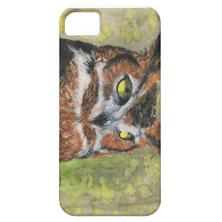 Great Horned Owl iPhone 5 Case