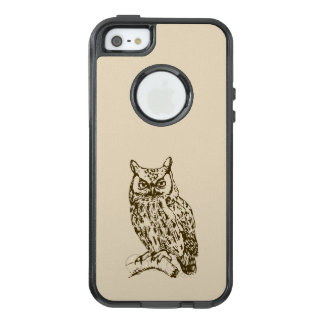 Great Horned Owl OtterBox iPhone 5/5s/SE Case