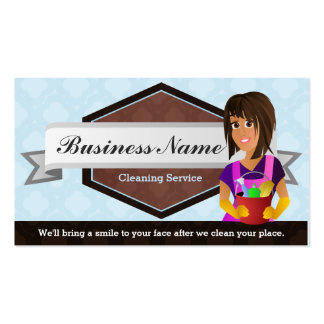 Great House Cleaner Business Cards