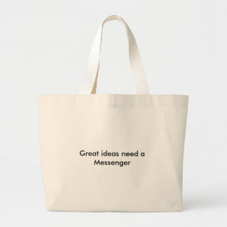Great ideas need a Messenger Canvas Bags