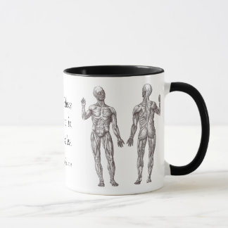 Great Ideas Originate in the Muscles Mug