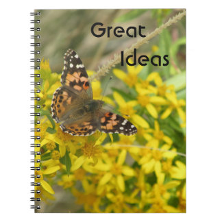 Great Ideas Painted Lady Butterfly Notebook