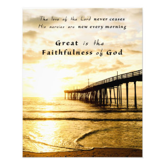"""Great Is His Faithfulness"" (16"" x 20"") Photo Print"