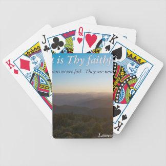 great is thy faithfulness poker deck