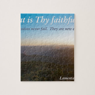 great is thy faithfulness puzzle