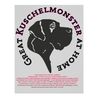 Great Kuschelmonster at Home Flyer