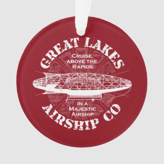 Great Lakes Airship Cruise Christmas Ornament