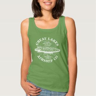 Great Lakes Airship Cruise Dark T Shirt