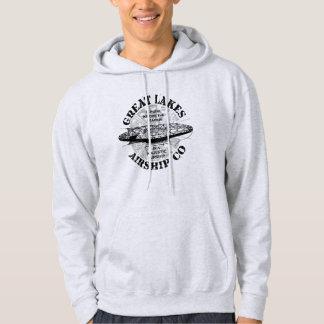 Great Lakes Airship Cruise Hooded Shirt