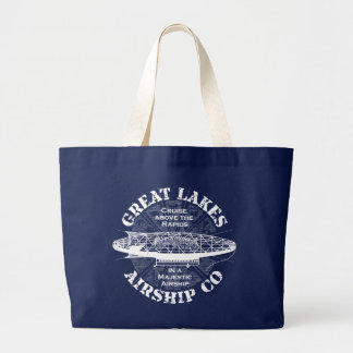 Great Lakes Airship Cruise Tote Grocery Bag