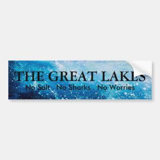 Great Lakes  - humor Bumper Sticker