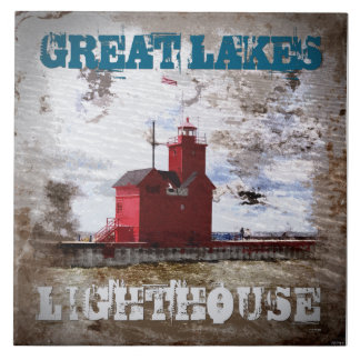 Great Lakes Lighthouse Tile