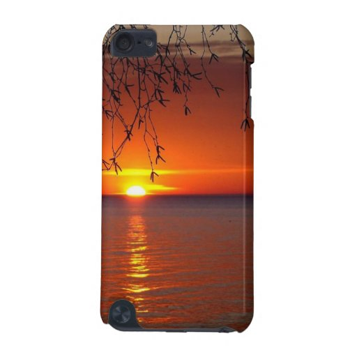 Great Lakes Sunset iPod Touch Case