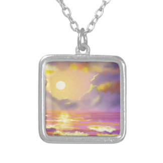 Great lakes sunset necklace