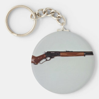 Great Lever action rifle gun Key Chain