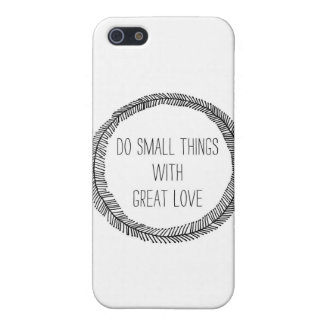 great love iPhone 5/5S case