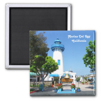 Great Marina Del Rey Magnet! Square Magnet