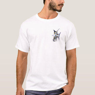 Great marlin with reflection in water T-Shirt