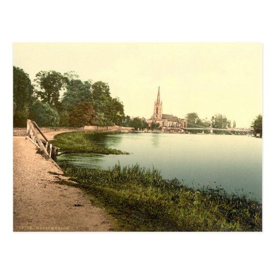 Great Marlow, Buckinghamshire, England Postcard