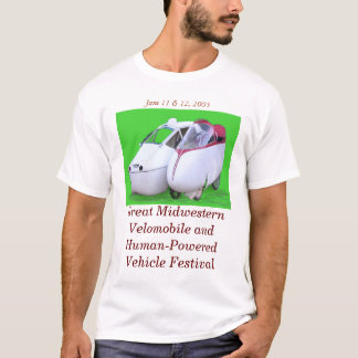 Great Midwestern Velomobile & HPV Festival T-Shirt