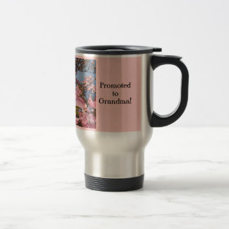 Great Moms are Promoted to Grandma mugs Dogwoods