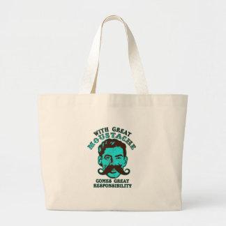 Great Moustache Jumbo Tote Bag
